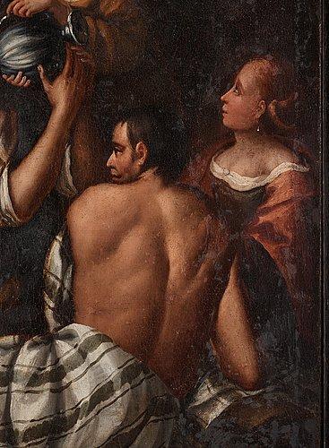 Leandro bassano, hans efterföljd, olja på duk.