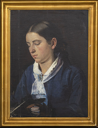 Michael ancher, olja på duk, ca 1878/79.