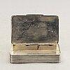 A danish sterling silver box.