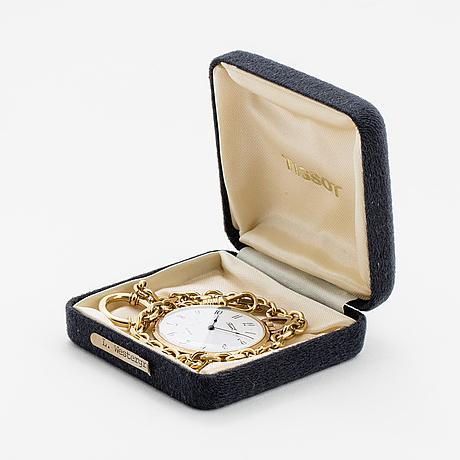 Tissot, pocket watch, 40 mm.