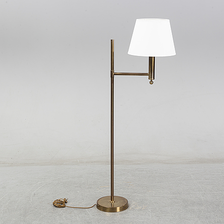 A pair of swedish floor lamps, bergboms, second half of the 20th century.