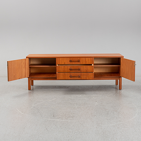 A teak sideboard, second half of the 20th century.