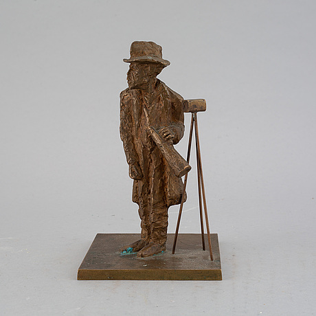 A arne jones bronze sculpture.