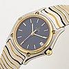 Ebel, classic wave, wristwatch, 26 mm.