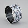 Hermès, bracelet, 'optique chaine d'ancre, size extra wide pm.