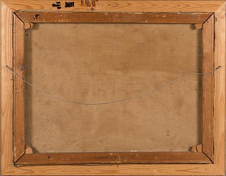 William lönnberg, öljy kankaalle, signeerattu.