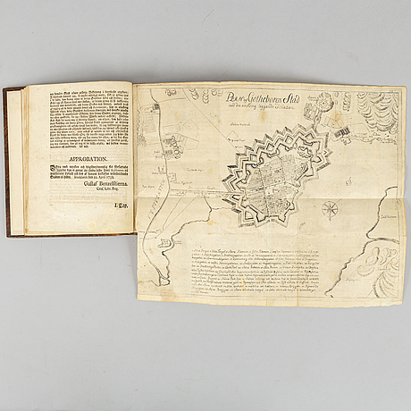 Gothenburg 1739, with engraved map and plates.