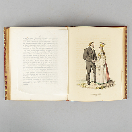 With 47 hand-coloured swedish costume plates.