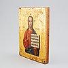 A russian icon, 19th century.