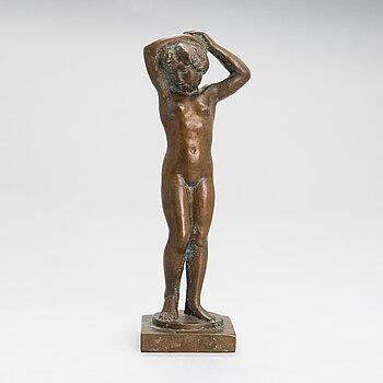 Aarre Aaltonen, a bronze sculpture, signed and dated 1944.