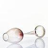 """Nils landberg, a """"tulip"""" glass goblet, orrefors, sweden 1954."""