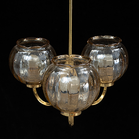 A ceiling lamp, second half of 1900's.