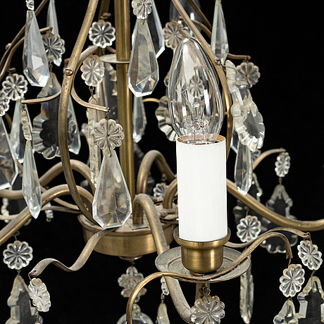 A 20th century ceiling lamp.