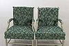 "Arne norell, a pair of lounge chairs ""gripsholmsmodell"" late 20th century."