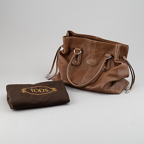 Tod's, a leather bag.