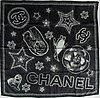 Chanel, a silk scarf.