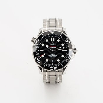 Omega, Seamaster Diver 300M Co-Axial Master Chronometer 42 mm.