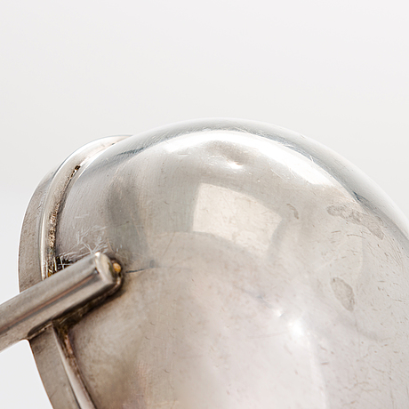 Bertel gardberg, a ladle for hopeatehdas oy helsinki 1964.