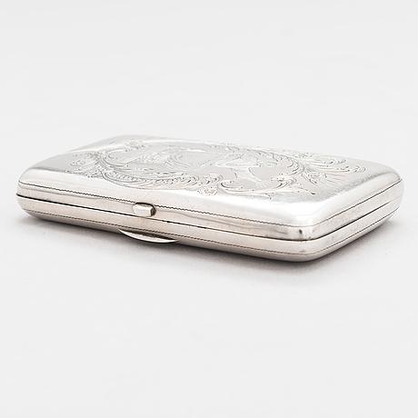 Savukerasia, hopeaa, suomen kultaseppä oy, turku, v. 1900.