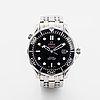 Omega, seamaster professional (300m / 1000ft), chronometer, wristwatch, 41 mm.