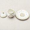 12 porcelain custard cups from rörstrand.