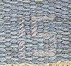 Matta, rölakan, ingegerd silow. 102x137 cm.
