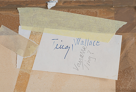 Walasse ting, lithograph in colours, signed 1/100.