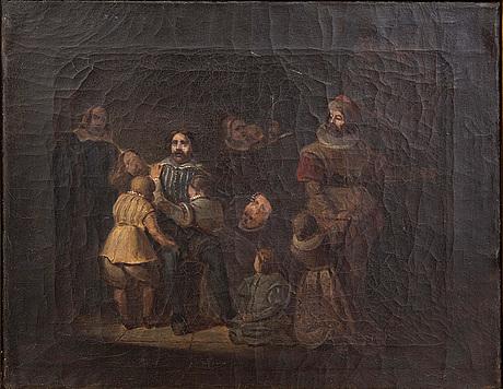 Okänd konstnär 1800-tal , olja på duk.