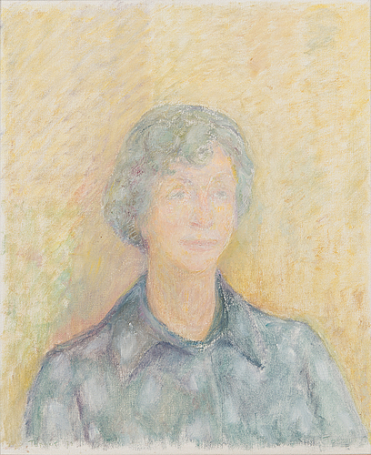 Torger enckell, oil on canvas, unclearly signed.