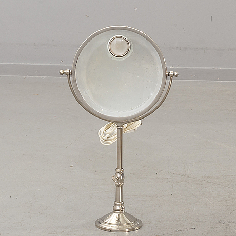 A table mirror 'le mirophar',art deco, paris, 1930's.