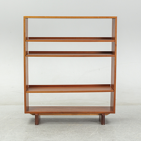 A mahogany venered bookcase model 1142 by josef frank for firma svenskt tenn.