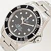Rolex, oyster perpetual date, sea-dweller, (swiss made), chronometer, wristwatch, 40 mm.