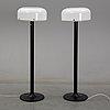 Anders pehrson, a pair of 'knubling' floor lights, ateljé lyktan.
