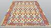 A rug, kilim, ca 289 x 199 cm.