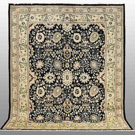 A carpet, kashmar, ca 314 x 250 cm.