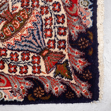 A carpet, kashmar, possibly, ca 348 x 248 cm.
