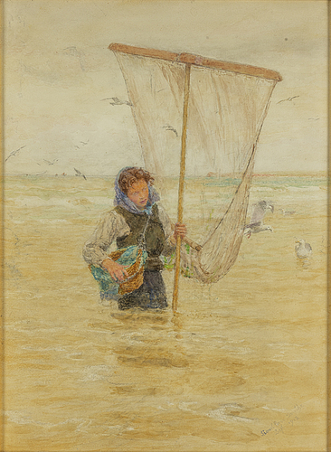 Lionel percy smythe, watercolour, signed lionel percy smythe and dated sept. 1912.