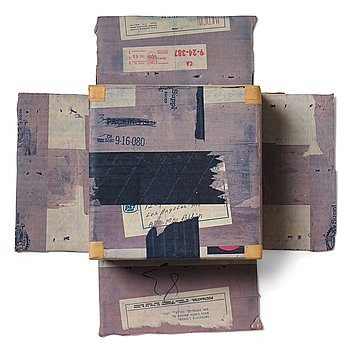 "443. Robert Rauschenberg, ""Cardbird Box II, from ""Cardbird series""."