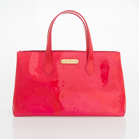 Louis vuitton, monogram vernis wilshire bag.