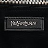 Yves saint laurent, a black leather 'muse two' bag.
