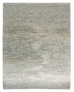 """216. Elisabet Hasselberg-Olsson, vävd tapet, """"Myren"""", slätväv, ca 125-126 x 98-99 cm, signerad EO, daterad 2000 och 2001."""
