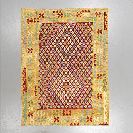 A rug, kilim 245 x 185 cm.