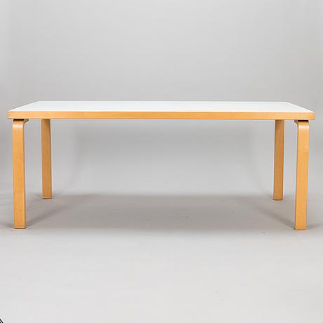 Alvar aalto, a late 20th century '83' table for artek.