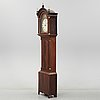 An english 19th century grandfather clock.