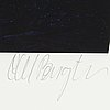 Carl bengtsson, pigment print, signed. ed 85/100.