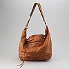 Balenciaga, a leather bag.