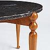 Josef frank, soffbord, modell 2168, firma svenskt tenn, sannolikt 1950-tal.