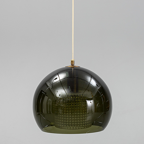 Carl fagerlund, a glass ceiling light, orrefors.
