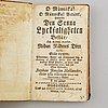 Böcker,  5 st, 1700-tal.