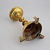 Ljusstake, brons, 1800-tal.